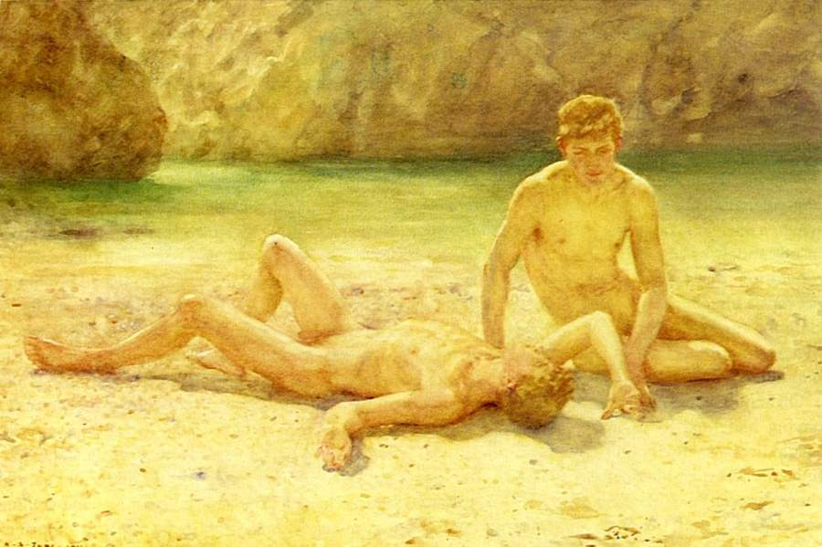 which does not stop at 1950 but focusses on male erotic art of the past 6 ...